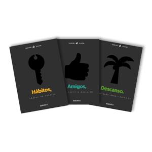 Coleção kit – Amigos, Hábitos, Descanso